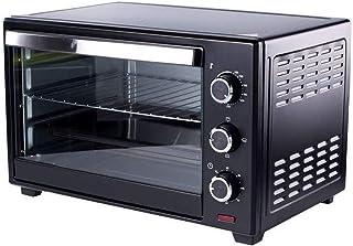 SUWEN Horno eléctrico de Cocina, Mini Horno de sobremesa, 1360 W, 20 litros, Temporizador Durante 60 Minutos, Temperatura Ajustable 100~250 ° C, Negro