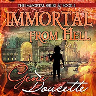 Immortal from Hell audiobook cover art