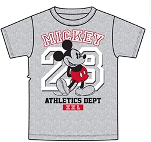 Disney Mickey Mouse Tee 28th T Shirt Unisex Adult mode Top (Medium 8-10)