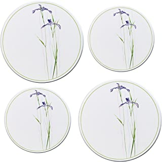Corelle Coordinates by Reston Lloyd Electric Stovetop Burner Covers, Set of 4, Shadow Iris