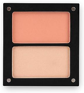 Jolly Dim Makeup Blush & Glow Set - Highlighter en Rouge. Make-up palet voor het gezicht, perfect voor onderweg.