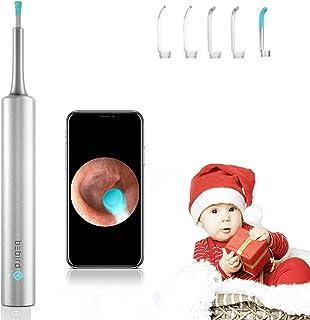 【Upgraded】 3.9mm Earwax Removal Kit Wireless Otoscope Wi-Fi Ear Endoscope Earwax Removal Curette HD 1080P Digital Ear Clea...