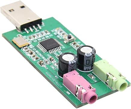LaDicha Plug & Play Pcm2912A Uac Usb Scheda Audio Con Ingresso Microfono E Uscita Cuffie Stereo Per Raspberry Pi/Windows/Linux - Trova i prezzi più bassi