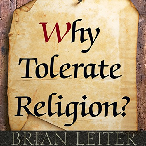 『Why Tolerate Religion?』のカバーアート