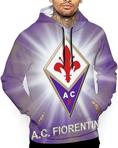 BSalvatore ACF Fiorentina Felpa da Uomo Felpa con Cappuccio da ...