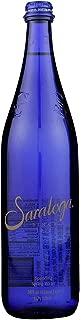 Saratoga Sparkling Spring Water - 28 oz. (Carbonated, Pack of 12 bottles)