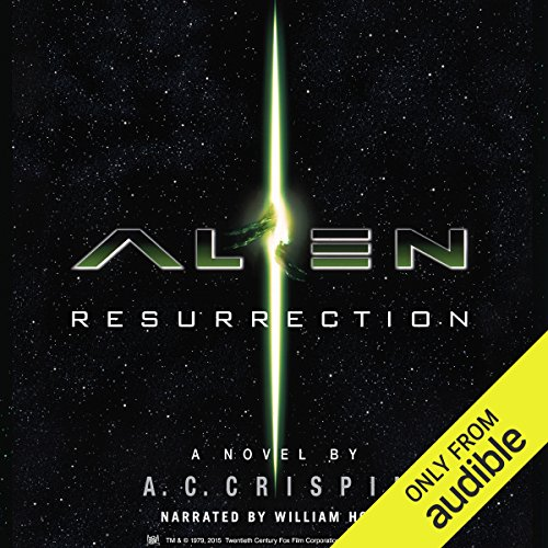 Alien: Resurrection audiobook cover art