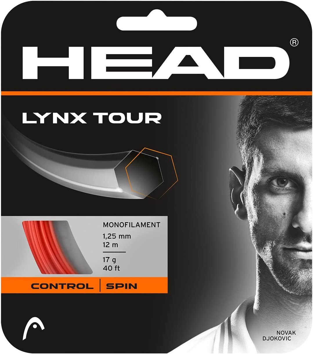 HEAD Unisex– Adult's Lynx Tour Tennis String