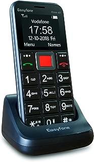 Easyfone Prime-A5 Teléfono Móvil para Mayores con botón SOS y Base cargadora