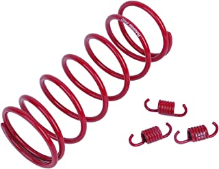 Glixal ATKS-03906 High Performance Racing Moped ATV Scooter Torque Spring with Clutch Springs for GY6 125cc 150cc 157QMJ 152QMI Engine (2000RPM,Red)