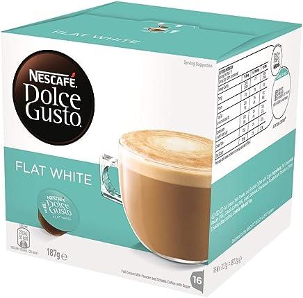 NESCAFÉ Dolce Gusto Flat WhiteCoffee Pods, 16 Capsules (16 Serves) 187g