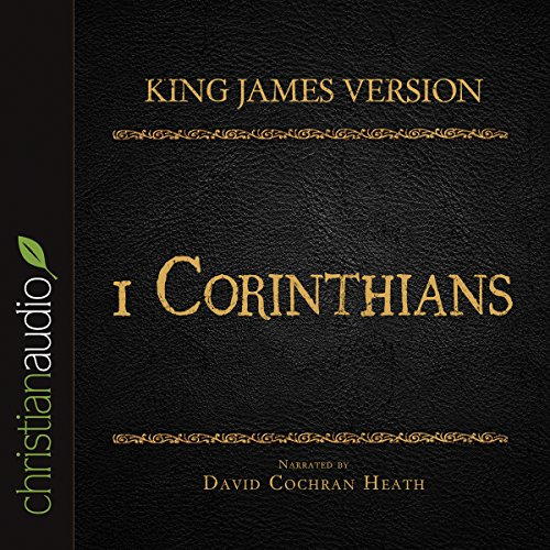 Holy Bible in Audio - King James Version: 1 Corinthians audiobook cover art