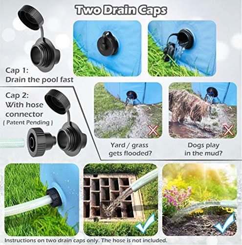 Product Image 2: Jasonwell Foldable Dog Pet Bath Pool