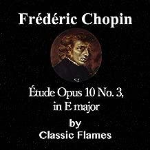 Frédéric Chopin: Étude, Op. 10: No. 3 in E Major (Tristesse)