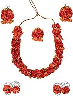 c2e1ceacb347f Orange Women's Jewellery Sets: Buy Orange Women's Jewellery Sets ...