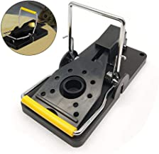 Fewao Mouse Trap Rat Mice Traps Snap Work Power Rodent Quick Capture 100% Mouse Catcher Rodent Trap Safe for Family and Pet Easy to Set Reusable Mouse Control Snap Traps