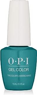 OPI GelColor, Blue Color Gel Nail Polish