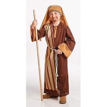 Disfraz San José Navidad Talla 7-9 años: Amazon.es: Juguetes y juegos