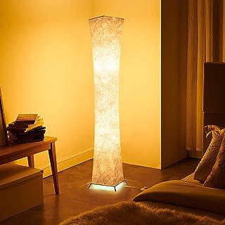 1life 北欧 おしゃれ フロアスタンド LED スタンドライトフロアライト フロアランプ 3段階調光 間接照明 和風 照明 スタンド132x20cm (細い腰の形-S)