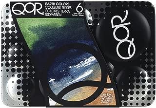 QoR Watercolor Introductory 6-Earth Colors Set
