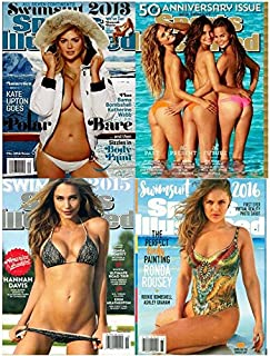 4 Pack Sports Illustrated Swimsuit Issue Magazine 2013 2014 2015 2016