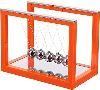 Scicalife Newtons Vagga Pendel Bollar 5 Stål Balans Bollar Med Spegel Fysisk Stress Relief Leksak För Hemkontor Desk Pryd ...