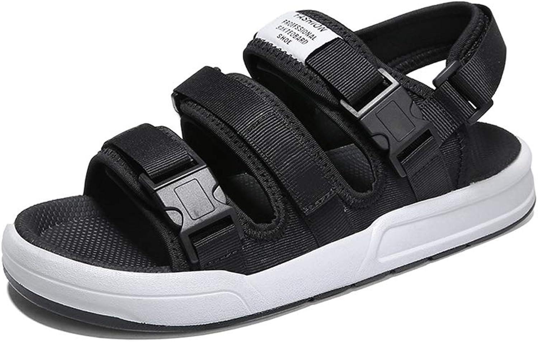 HENRYY ny Open -Toe Sandals Mans utomhus strand skor skor skor Casual Trend tofflor -svart -43  försäljning