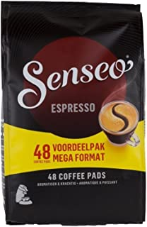 Douwe Egberts SENSEO Coffee 48 Pods/Pads EspressoPowerful & Aromatic