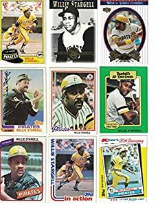 Willie Stargell / 40 Different Baseball Cards Featuring Willie Stargell