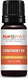 Plant Therapy Pup & Pony | Confident K9 Synergy | Natural Aromatherapy for Dogs & Horses | 100% Pure | 10 mL (1/3 oz)