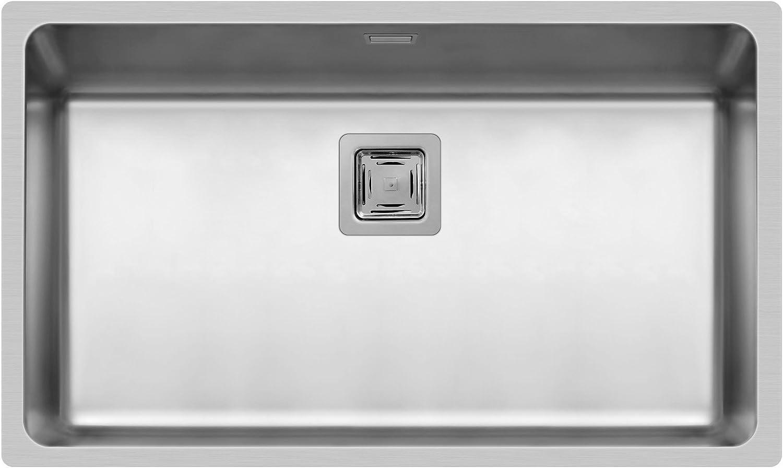 Pyramis 101025001 LUME (70X40) UB Unterbaubecken Edelstahl, poliert, 70 x 40 cm