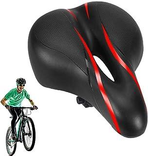 no branded Funda de Asiento de Bicicleta, Funda de Asiento de Bicicleta Extra Suave, diseño de cojín de sillín de Bicicleta de Silicona Espesa, Apto para Bicicleta de Carretera y Bicicleta de montaña
