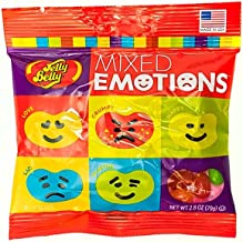 Jelly Belly Mixed Emotion 2.8oz Peg Bag