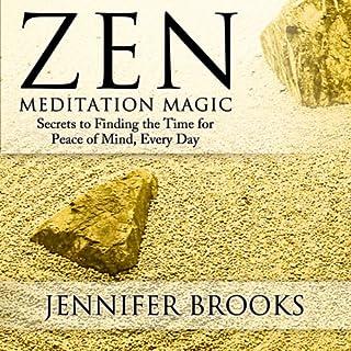 Zen Meditation Magic audiobook cover art
