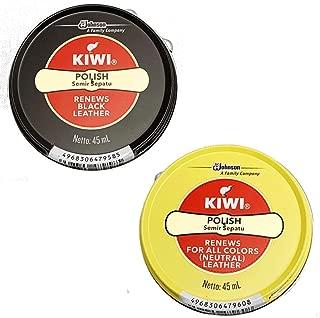 KIWI キウイ 靴クリーム 2個セット 黒と無色