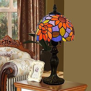 Bordslampa European Sun Flower Garden Medelhavsstil Bordslampa Sovrumssänglampa Hotellbar Personlighet Bordslampa 20 36cm
