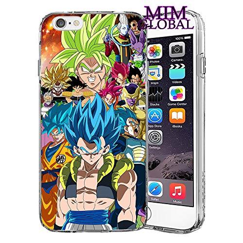 MIM Global Dragon Ball Z Super GT Schutzhülle für alle iPhones