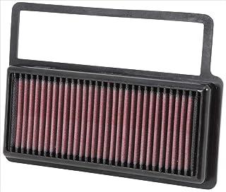 K&N 33 3014 Motorluftfilter: Hochleistung, Prämie, Abwaschbar, Ersatzfilter, Erhöhte Leistung, 2008 2019 (Doblo, , Nuova 500, 595, 695 XSR, Combo, Tour)