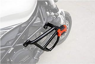 Fanuse Protecteur de Garde-Boue de Grille de Radiateur en Acier de Moto pour Benelli Leoncino 500 BJ500 Garde-R/éServoir deau Noir
