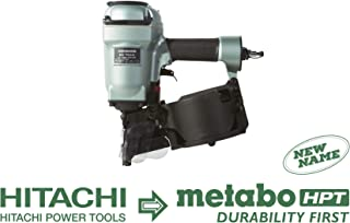 Metabo HPT NV75AN Pneumatic Coil Siding/Framing Nailer, 1-3/4