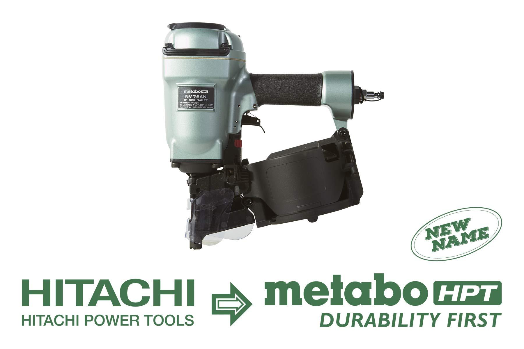 Metabo HPT NV75AN Pneumatic Adjustable