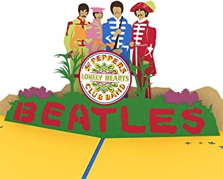 Lovepop The Beatles Sgt. Pepper's Lonely Hearts Club Band Pop Up Card, Father's Day Card, 3D Card, Beatles Cards, Greeting Card, Pop Birthday Card