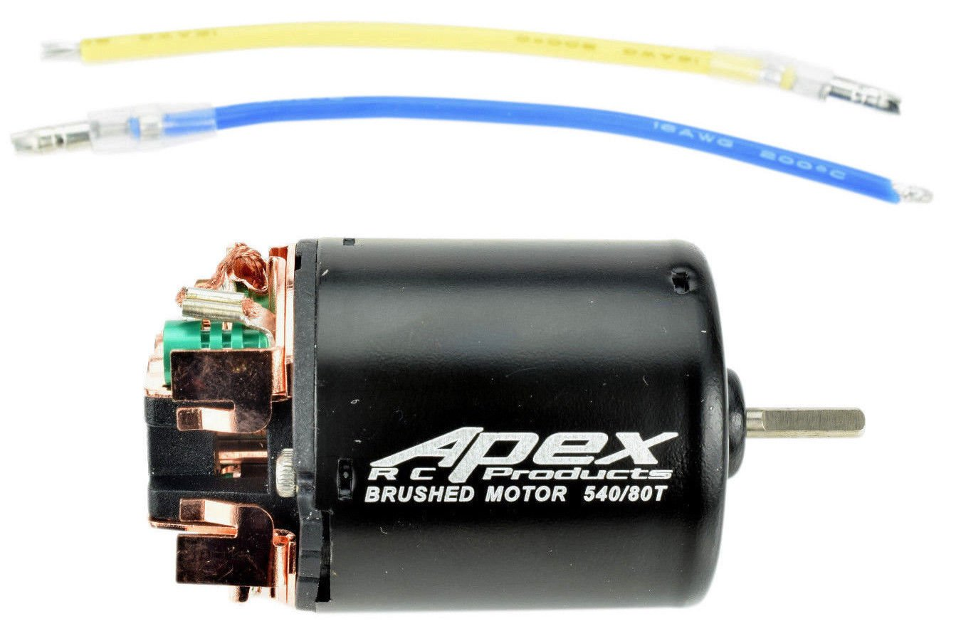 Apex RC Products 80T Turn 540 Brushed Crawler Electric Motor