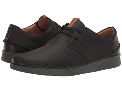 Clarks Oakland Lace (Black Leather) Men