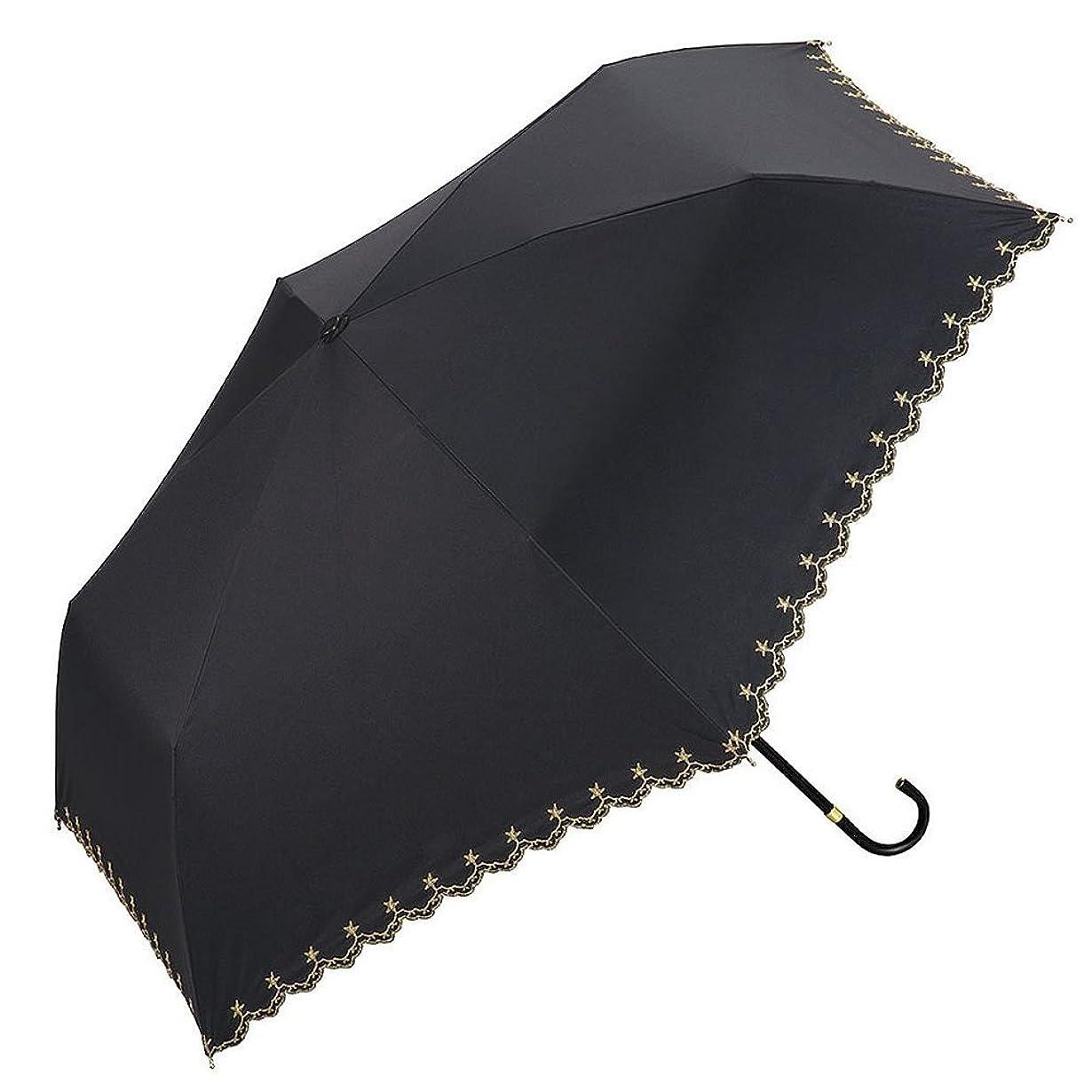 逃げるあいまいなプレビューw.p.c 折りたたみ 日傘 晴雨兼用 UVカット 50cm 遮光