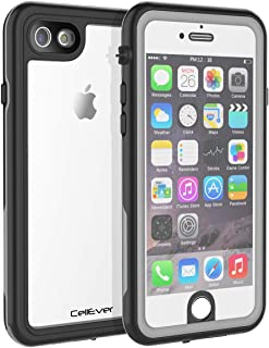 CellEver iPhone 6 / 6s Waterproof Case Ultra Slim Military Grade Protection IP68 Certified SandProof Snowproof Full Body Protective Clear Cover Fits Apple iPhone 6 and iPhone 6s (4.7 Inch) KZ Gray