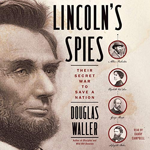 Couverture de Lincoln's Spies