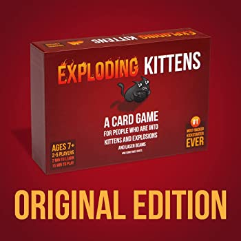 Exploding Kittens - A Russian Roulette Card Game, Easy Family-Friendly Party Games - Card Games for Adults, Teens & K...