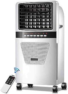 Tealight Aire Acondicionado portátil Ventilador Enfriador evaporativo Humidificador de Aire, con función Anion, 3 Modos de Viento y 3 velocidades, Temporizador 7.5H