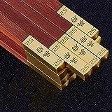Chopsticks, Red Sandalwood Gold-Plated Chopsticks Head Portable Tableware Set Environmentally Friendly Non-Slip fish sticks FSHDWC
